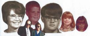 Marcia, Corey, Virgil, Terril, Larene, Don & Verla Hendrickson