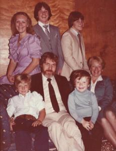 Sheradon's family